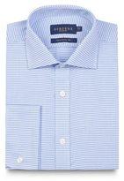 Osborne Blue Puppytooth Tailored Shirt