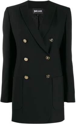 Just Cavalli slim-fit double breasted blazer