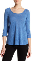 Bobeau 3/4 Sleeve Shirt (Petite)
