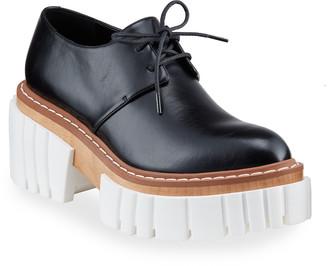 Chunky Heel Platform Loafers | Shop the