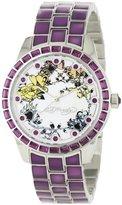 Ed Hardy Women's BE-PU Bella Purple Watch