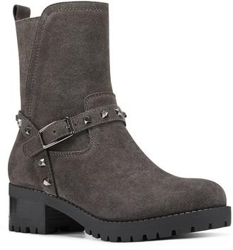 Nine West Renee Women's Suede Moto Boots