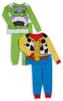 AME Sleepwear Little Boy's Four-Piece Toy Story Cotton Set