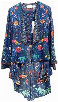 Camilla Burgundy Silk Jacket for Women