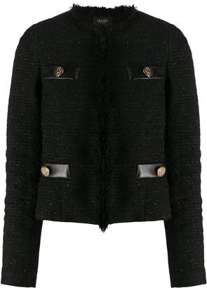 Liu Jo Fitted Tweed Jacket
