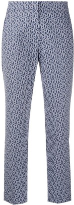 Tommy Hilfiger Cropped Tailored Trousers
