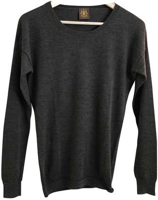 Trussardi Khaki Cashmere Knitwear
