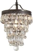 Amonson Lighting Clarissa Glass Drop Chandelier, Small