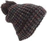 Universal Textiles Womens/Ladies Chunky Knit Winter Beanie Hat With Pom Pom