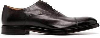 Alberto Fasciani Abel cracked oxford shoes