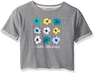 Calvin Klein Girls' Calvin Graphic Tee