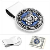 Ice Pewter U.S. Coast Guard Money Clip