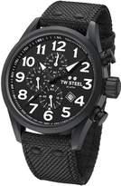 TW Steel Men's 'Volante' Quartz Stainless and Nylon Dress Watch, Color: (Model: VS43)
