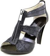 MICHAEL Michael Kors Berkley T Strap Women US 8 Black Sandals