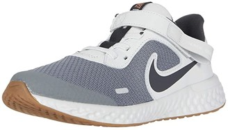 Nike Kids FlyEase Revolution 5 (Little Kid) - SINGLE SHOE (Light Smoke Grey/Dark Smoke Grey/Photon Dust) Kid's Shoes