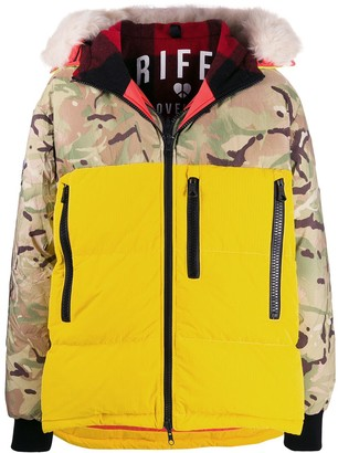 Griffin Padded Camouflage Jacket