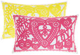 Hiccups Papel Picado Cushion