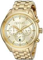 Rip Curl Women's A2758G Analog Display Analog Quartz Gold Watch