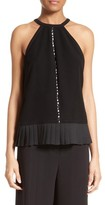 Yigal Azrouel Women's Pleated Halter Top
