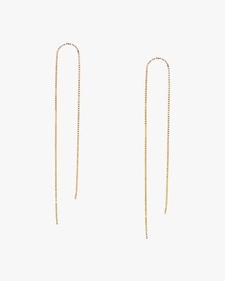 Poppy Finch Arch Box Chain Earrings
