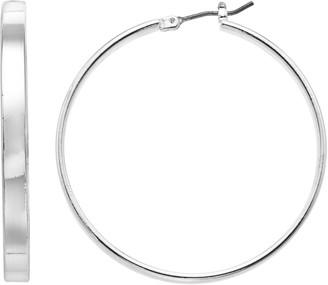 Dana Buchman Thin Hoop Earrings