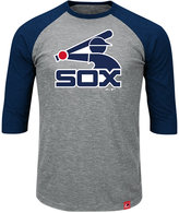 Majestic Men's Chicago White Sox Coop Grueling Raglan T-shirt