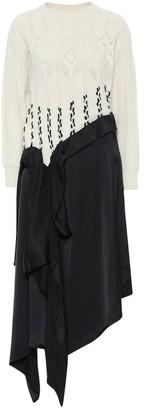 Loewe Asymmetric midi dress