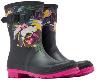 Joules Molly Mid Height Printed Rain Boot