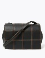 Marks and Spencer Vegan Woven Messenger Bag