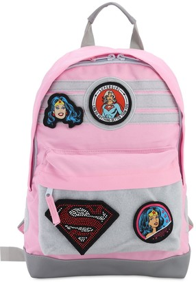 Fabric Flavours CANVAS BACKPACK W/ PATCHES