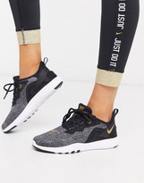 Nike Running Nike Training Flex sneakers in black