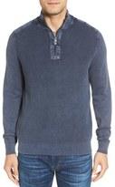 Tommy Bahama Men's Big & Tall 'Coastal Shores' Quarter Zip Sweater