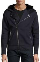 The Kooples Faux Fur Hooded Jacket