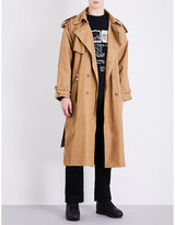 Blood Brother Cotton-canvas Trench Coat