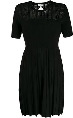 Kenzo Knitted Short Sleeve Dress