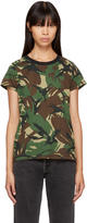 Rag & Bone Green Camo T-shirt