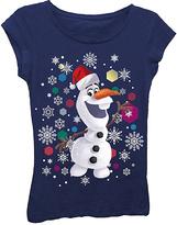 Freeze Midnight Navy Olaf Snowflake Tee - Kids & Tween