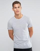 Esprit Washed Marl Stripe T-shirt