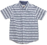 Sovereign Code Boys 2-7 Striped Short Sleeve Shirt