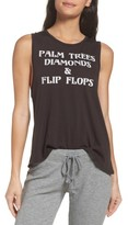 Chaser Women's Palm Trees & Diamonds Muscle Tank