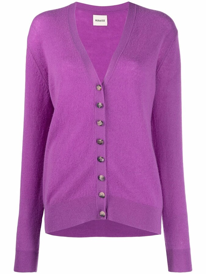 Thumbnail for your product : KHAITE Knitted Cardigan