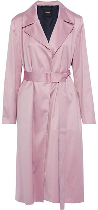 Theory Cotton-voile Trench Coat