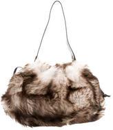 Kate Spade Textured Leather-Trimmed Shoulder Bag