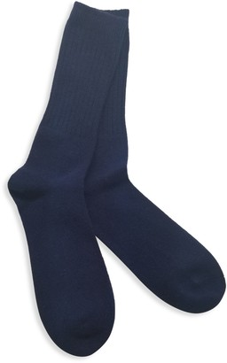 Portolano Cashmere-Blend Crew Socks