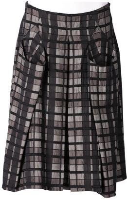 Antonio Marras Grey Wool Skirts