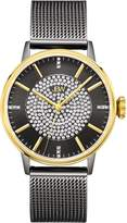 JBW J6339D Belle Japanese-Quartz Movement 12 Diamond Stainless Steel Women's Wrist Watch