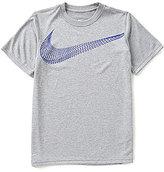 Nike Big Boys 8-20 Dri-FIT Legend AOP Short-Sleeve Tee