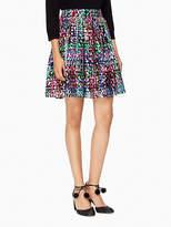 Kate Spade Metallic multi dot skirt