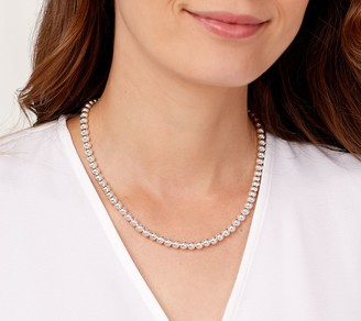"""Ultrafine UltraFine Silver 36"""" Polished Magnetic Chain Necklace 42.5g"""