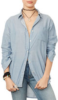 Denim & Supply Ralph Lauren Solid Boyfriend Shirt